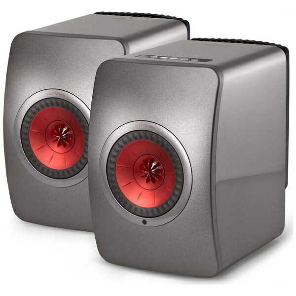 KEFケーイーエフWiFiスピーカーチタングレイLS50WIRELESSTG[ハイレゾ対応/Bluetooth対応/Wi-Fi対応][LS50WIRELESSTG]