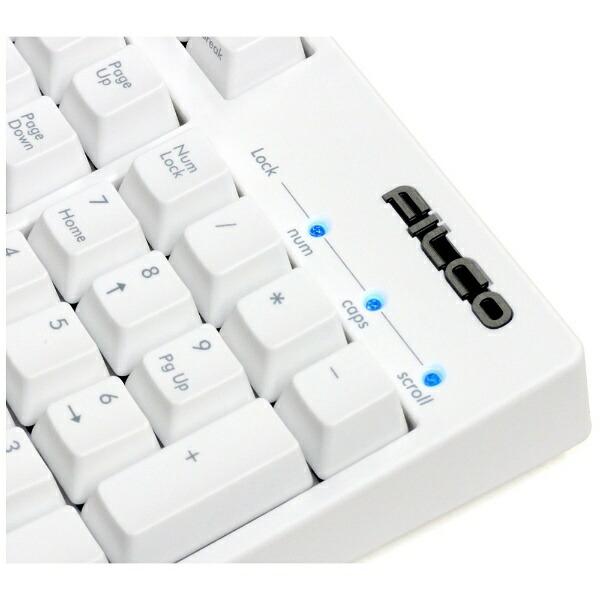 FILCOフィルコFKBN108M/JMW2キーボード茶軸Majestouch2HAKUAマットホワイト[有線][FKBN108MJMW2]