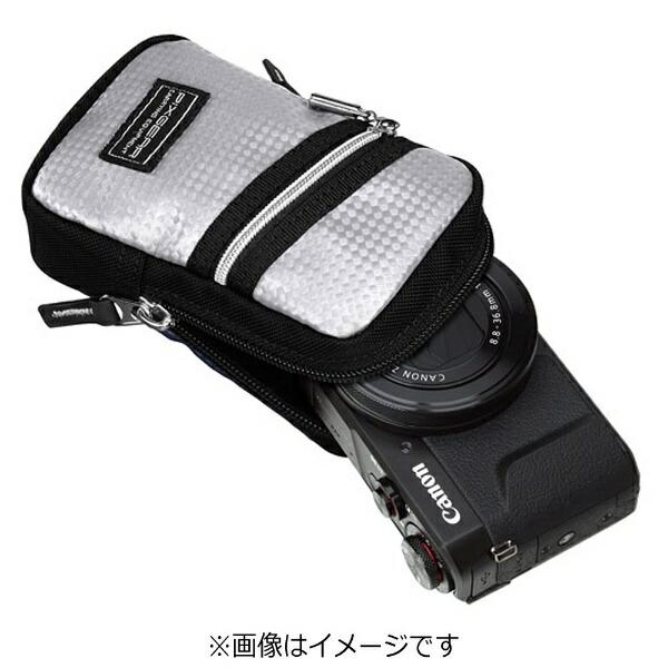 ハクバHAKUBAピクスギアCSカメラポーチM(シルバー)SPG-CS-CPMSV[SPGCSCPMSV]