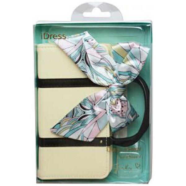 サンクレストSUNCRESTiPhone7用手帳型GIRLSiダイアリーカバーハンドバッグ風バッグアイボリーiP7-GI12