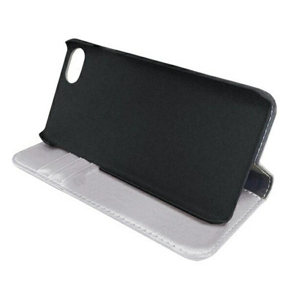 ナカバヤシNakabayashiiPhone7用手帳型ケースPUレザーハードケース付シルバーSMC-IP1602SL