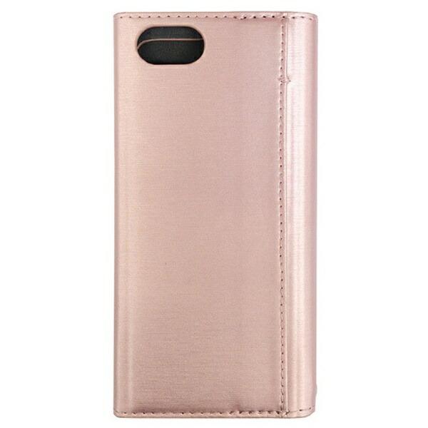 ナカバヤシNakabayashiiPhone7用手帳型ケースPUレザー軽量ピンクSMC-IP1605P