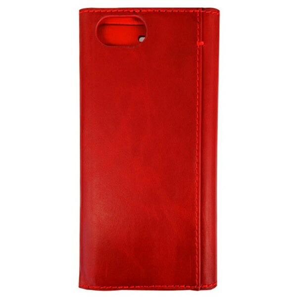 ナカバヤシNakabayashiiPhone7用手帳型ケース本革軽量レッドSMC-IP1606R