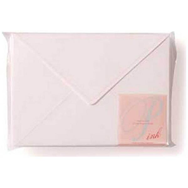 エトランジェetranger[封筒]EDC封筒パステルローズホワイト(ピンク)(40枚、洋2)EN4-03