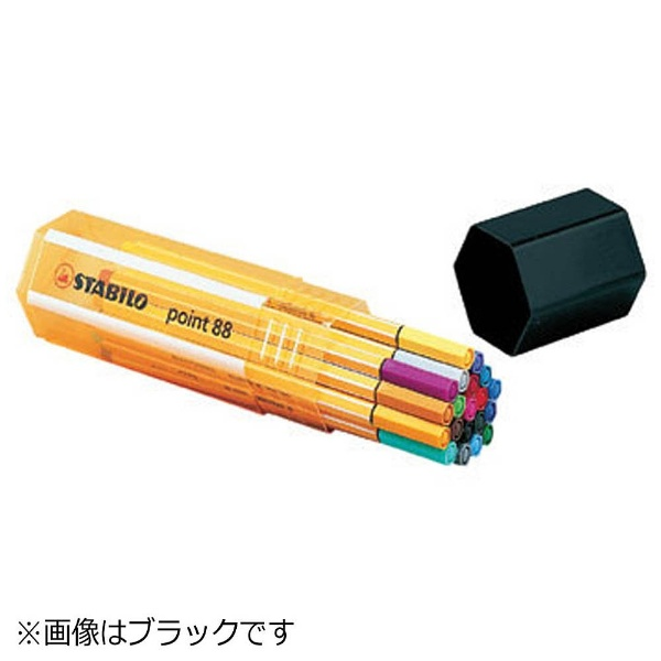 STABILOスタビロ[水性マーカー]STABILOpoint88(ポイント88)20色セットビッグポイントボックス8820-01