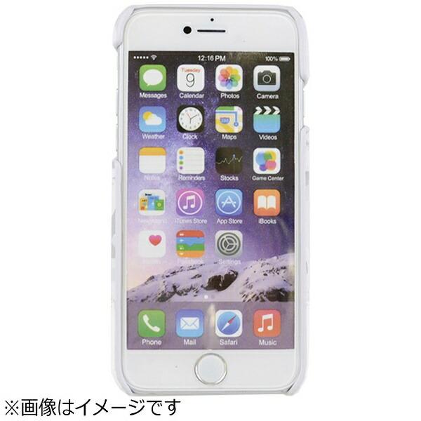 エムディーシーMDCiPhone7用BLACKBYMOUSSYアジャストケース迷彩・ホワイト2016IP-72148