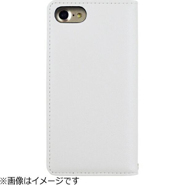 エムディーシーMDCiPhone7用BLACKBYMOUSSY手帳型ケース迷彩・ホワイト2016IP-72144