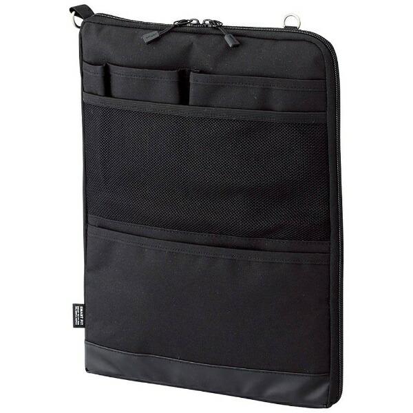 リヒトラブタブレットPC対応[〜12インチ]バッグインバッグタテ型A4サイズSMARTFITACTACTA-7683-24ブラック