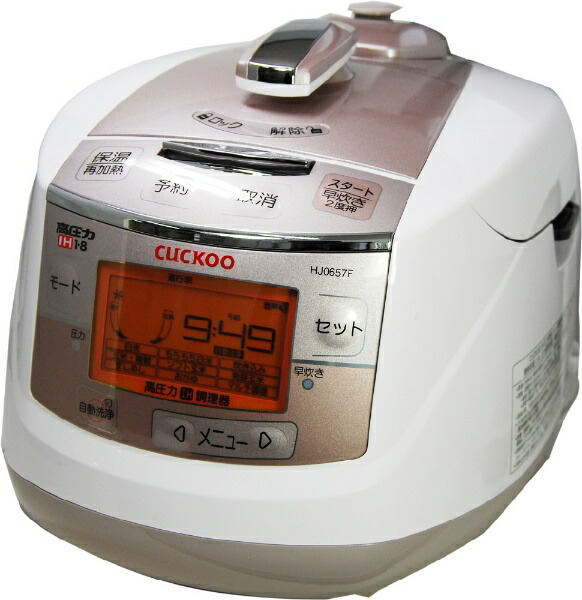 CUCKOOCRP-HJ0657FIH高圧力発芽玄米炊飯器CUCKOO[6合/IH][CRPHJ0657F]