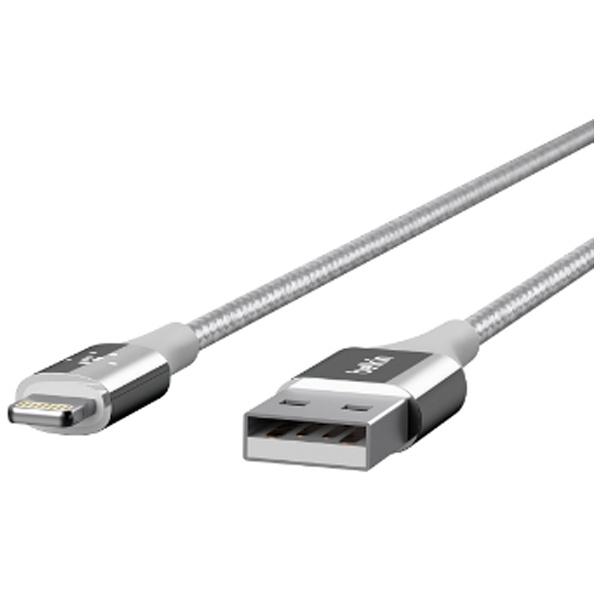 BELKINベルキン[ライトニング]ケーブル充電2.4A(1.2m・シルバー)MFi認証F8J207bt04-SLV[1.2m]