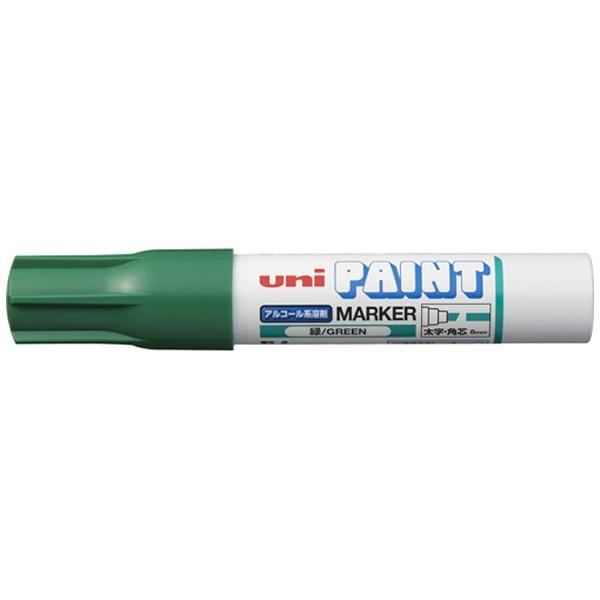 三菱鉛筆MITSUBISHIPENCILuniアルコールペイントマーカー太字緑PXA300.6