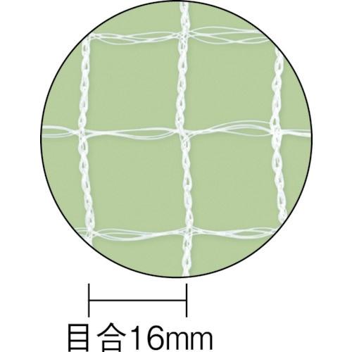 ダイオ化成DioChemicalsDio目立ちにくい透明鳥よけネット2m×4m白252232