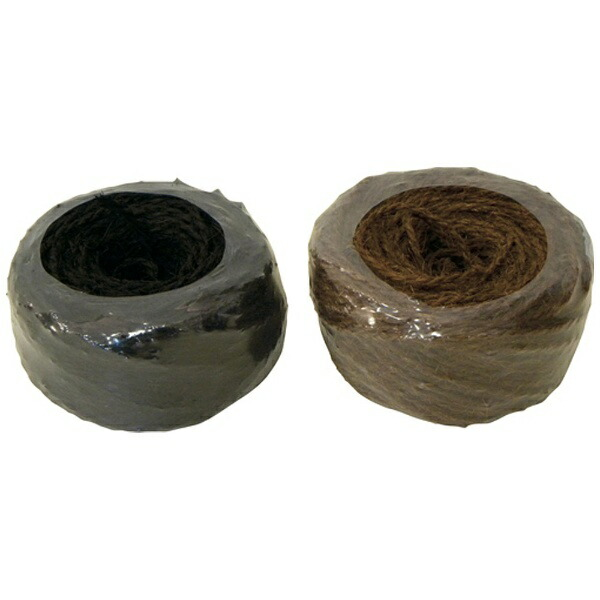 加藤伝蔵商店伝蔵棕櫚縄100m黒K006《※画像はイメージです。実際の商品とは異なります》