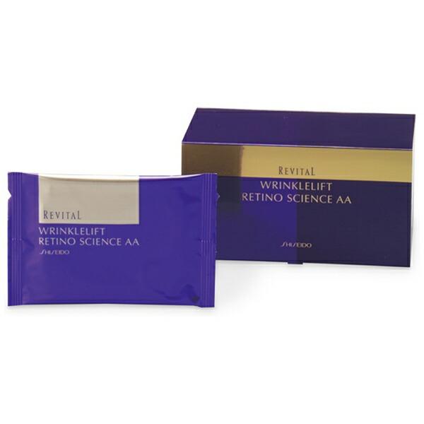 資生堂shiseidoREVITAL(リバイタル)リンクルリフトレチノサイエンスAAN12包(24枚)