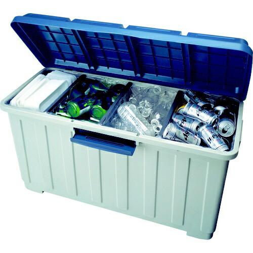 アスベルASVEL資源ゴミ用ダストボックスグレー662348[90L/4分別]