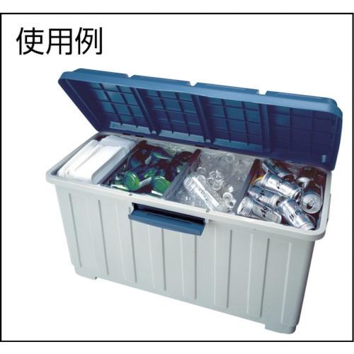 アスベルASVEL資源ゴミ用ダストボックスグレー662744[120L/4分別]