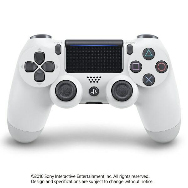 ソニーインタラクティブエンタテインメントSonyInteractiveEntertainmen【純正】PS4専用ワイヤレスコントローラー[DUALSHOCK4]グレイシャー・ホワイト(CUH-ZCT2J13)【PS4】