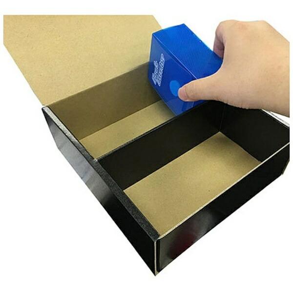 やのまんYANOMANカードサプライシリーズストレイジボックスDX(Lサイズ/ブラック)