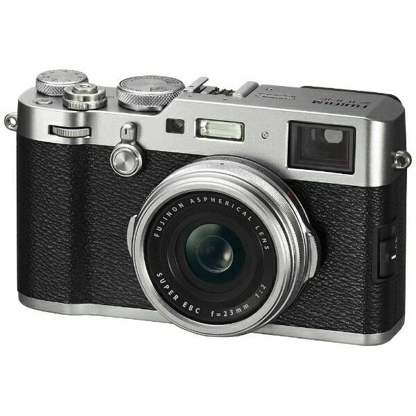 富士フイルムFUJIFILMX100FコンパクトデジタルカメラXシリーズシルバー[FX100FS]