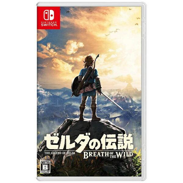 任天堂Nintendoゼルダの伝説ブレスオブザワイルド【Switchゲームソフト】[ニンテンドースイッチソフト]【代金引換配送不可】