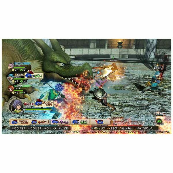 スクウェアエニックスSQUAREENIXドラゴンクエストヒーローズI・IIforNintendoSwitch【Switchゲームソフト】