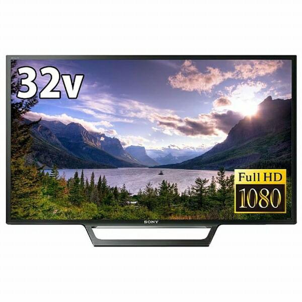 ソニーSONY液晶テレビBRAVIA(ブラビア)ブラックKJ-32W730E[32V型/フルハイビジョン/YouTube対応][テレビ32型32インチKJ32W730E]