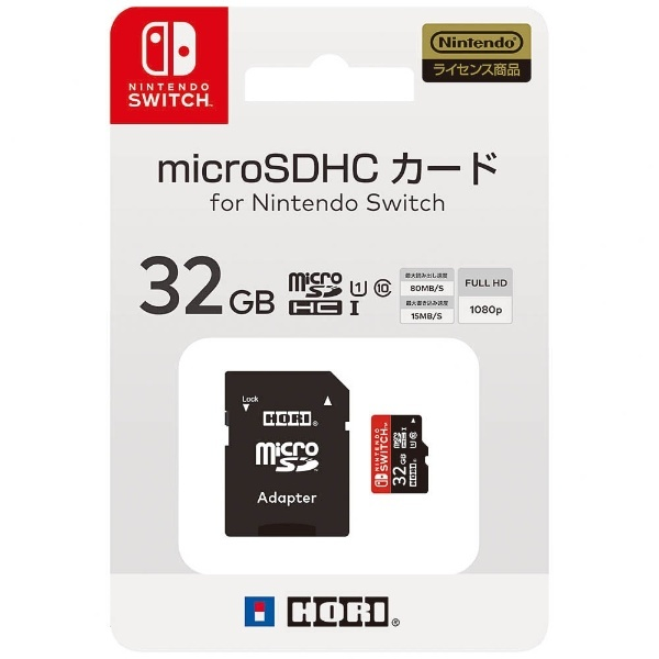 HORIホリマイクロSDカード32GBforNintendoSwitch【Switch】