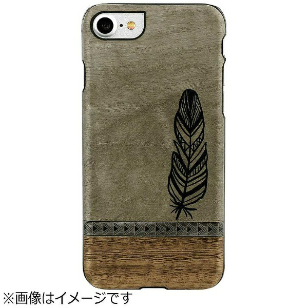 ROAロアiPhone7用Premium天然木ケースボヘミアンMan&WoodI9280I7