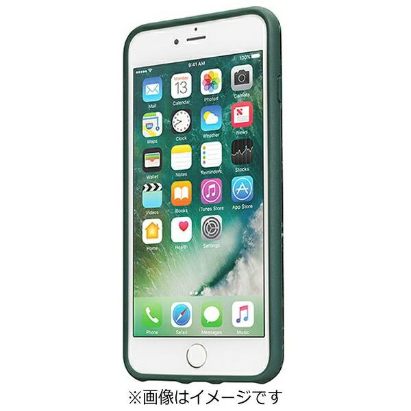 イツワ商事ITSUWASHOJIiPhone7Plus用LAUTHUEXELEMENTSマーブルエメラルドLAUTIP7PHXEMGN