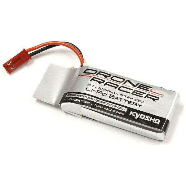 京商KYOSHO3.7V-1000mAhLi-Poバッテリー(DroneRacer専用)DR013[DR013]