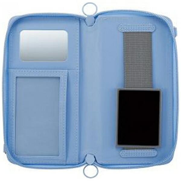 サンクレストSUNCRESTスマートフォン用[幅80mm]痛☆makerカスタマイズマルチカバーLサイズブルーSMC-IM02