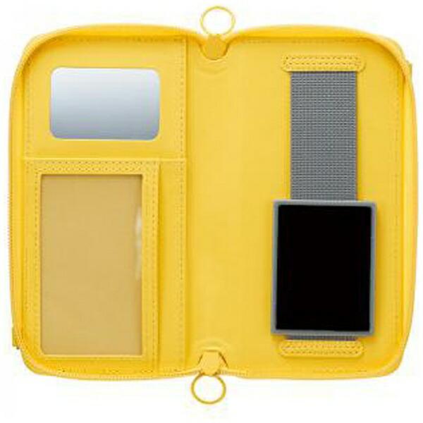 サンクレストSUNCRESTスマートフォン用[幅80mm]痛☆makerカスタマイズマルチカバーLサイズイエローSMC-IM05