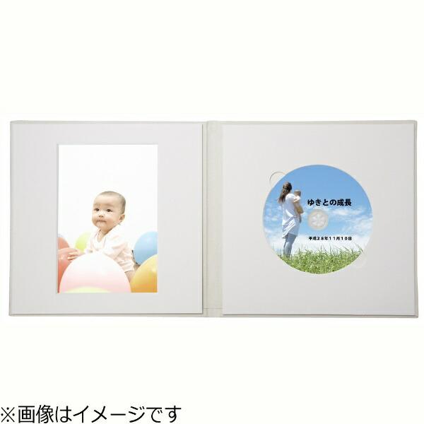 チクマChikuma写真台紙(2L/1面/CD・DVD/クリーム)V-522L/CD[V522LCDクリーム]