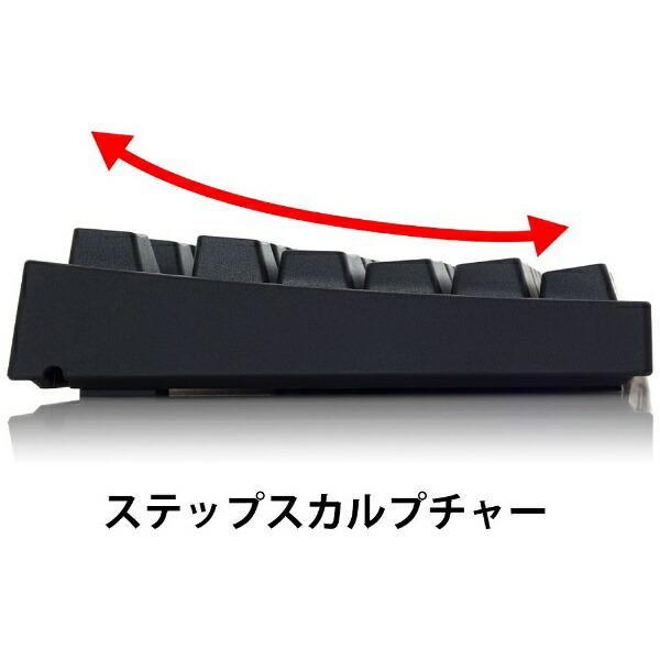 ARCHISSアーキスAS-KBPD08/SRBKNキーボードCHERRYMX静音赤軸ProgresTouchRETRO黒[有線][ASKBPD08SRBKN]
