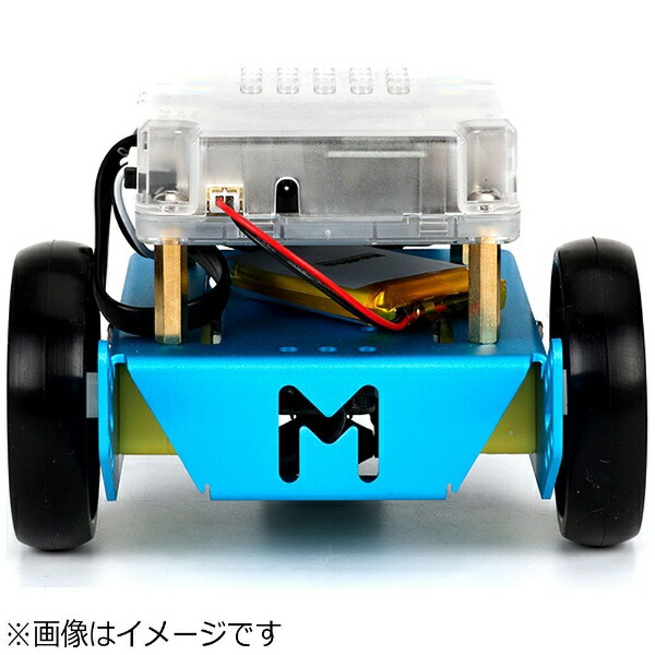 MAKEBLOCKJAPANmBotV1.1-Blue(BluetoothVersion)[99095]〔ロボットキット:iOS/Android対応〕【STEM教育】[99095]