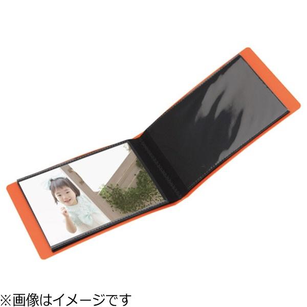 ハクバHAKUBAポケットアルバムLigero(リヘロ)Lサイズ20枚用(オレンジ)APLR-L20OR[APLRL20OR]