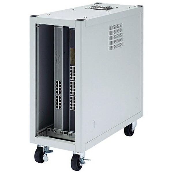 サンワサプライSANWASUPPLY縦収納19インチマウントハブボックス(2U)CP-TH2UN【メーカー直送・代金引換不可・時間指定・返品不可】