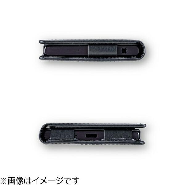 坂本ラヂヲXperiaXCompact用手帳型ケースGRAMASFullLeatherCaseブラックGLC6126BK