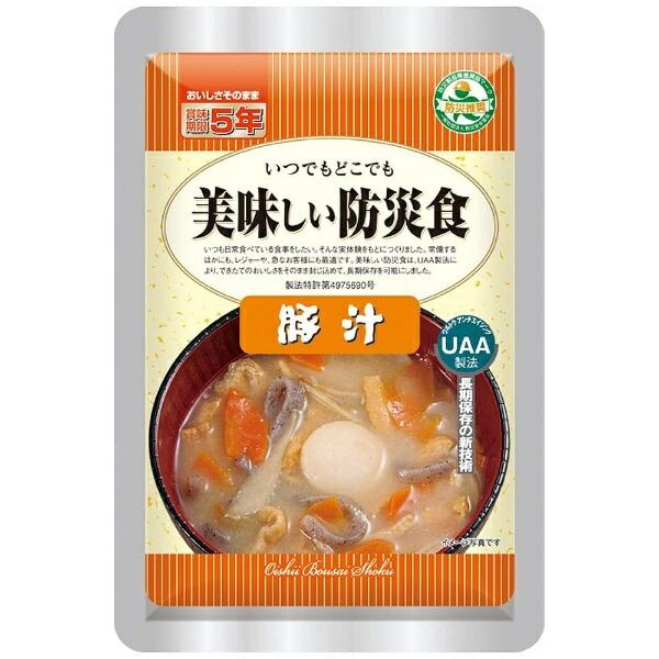 アルファフーズAlphaFoodsUAAおいしい防災食豚汁