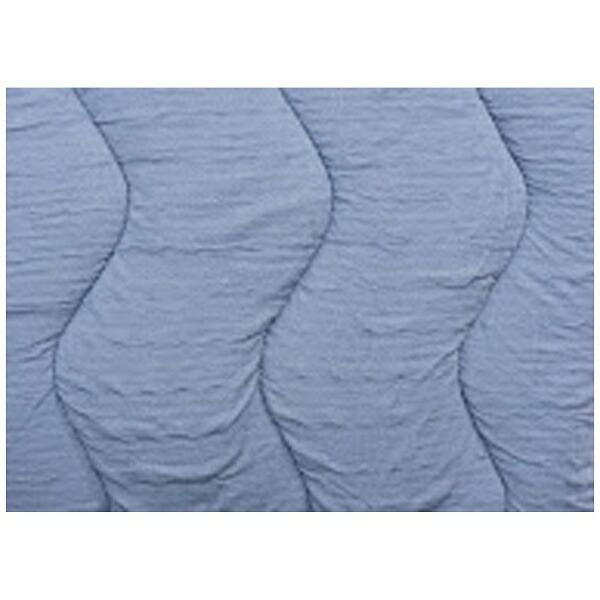 フランスベッドFRANCEBED【ベッドパッド/ボックスシーツ】クラウディアベッドパッド&マットレスカバー(セミダブルサイズ/122×195cm/ブルー)フランスベッド