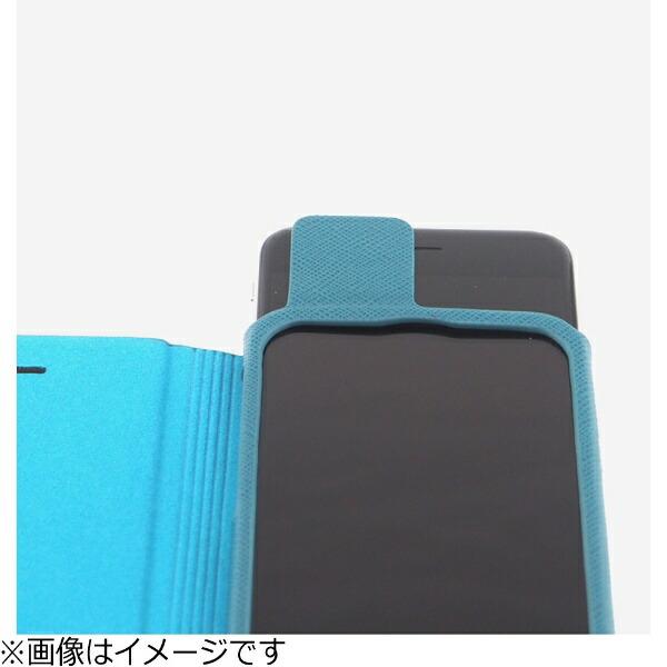 坂本ラヂヲiPhone7Plus用手帳型レザーケースGRAMASCOLORSEUROPassioneLeatherCaseブラックCLC276PBK