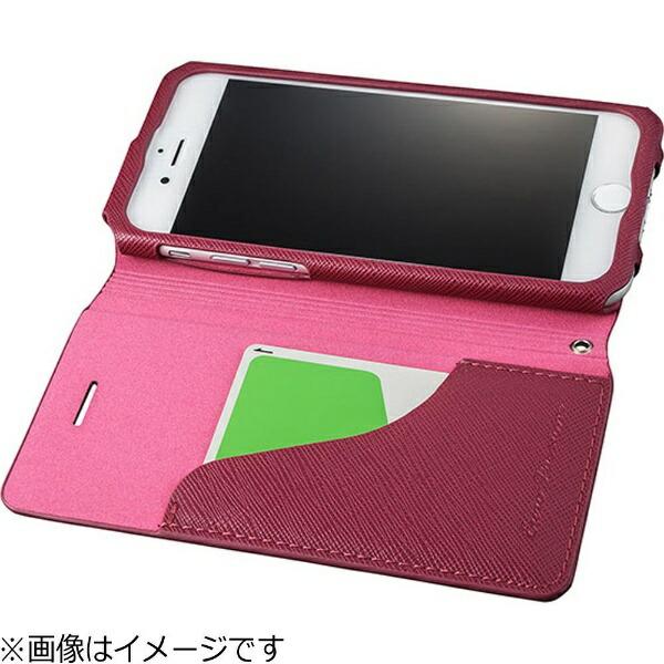 坂本ラヂヲiPhone7Plus用手帳型レザーケースGRAMASCOLORSEUROPassioneLeatherCaseグリーンCLC276PGR