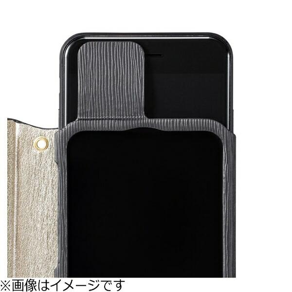 坂本ラヂヲiPhone7Plus用手帳型レザーケースGRAMASFEMMEColoFlapLeatherCaseホワイトFLC256PWH