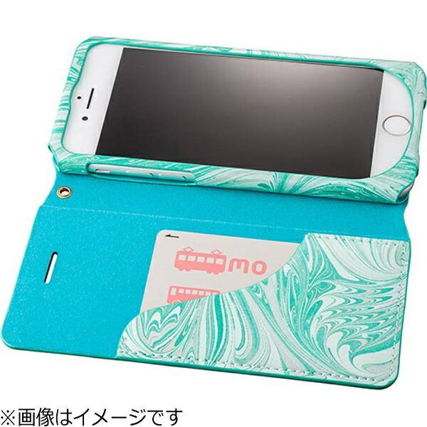 坂本ラヂヲiPhone7Plus用手帳型レザーケースGRAMASFEMMEMabFlapLeatherCaseイエローFLC2116PYL