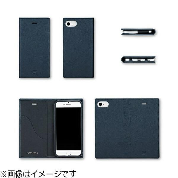 坂本ラヂヲiPhone7用手帳型レザーケースGRAMASShrunken-calfFullLeatherCaseトープGLC646TP