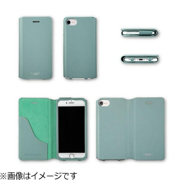 坂本ラヂヲiPhone7用手帳型レザーケースGRAMASCOLORSEUROPassione2LeatherCaseパープルCLC2156PR