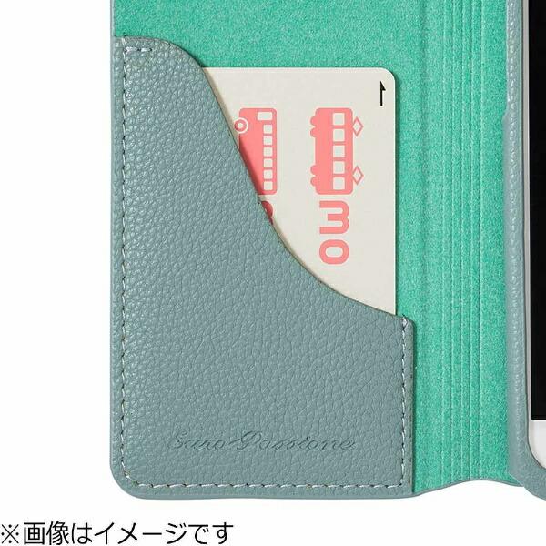 坂本ラヂヲiPhone7Plus用手帳型レザーケースGRAMASCOLORSEUROPassione2LeatherCaseネイビーCLC2166PNV