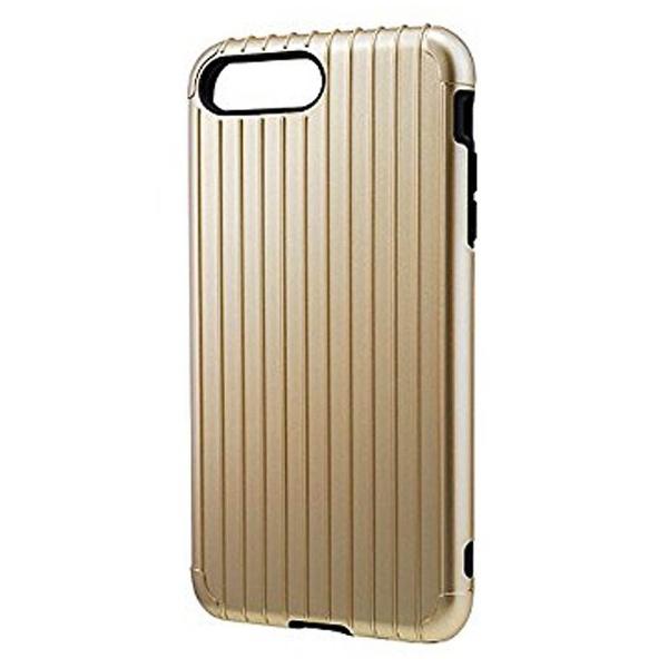 坂本ラヂヲiPhone7Plus用GRAMASCOLORSRibHybridcaseゴールドCHC446PGL