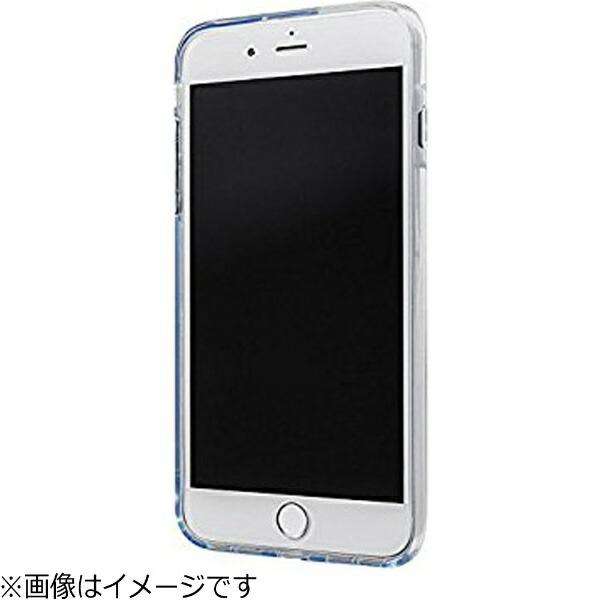 坂本ラヂヲiPhone7Plus用GRAMASCOLORSGEMSHybridCaseクリスタルクリアCHC476PCL