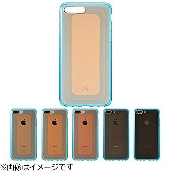 坂本ラヂヲiPhone7Plus用GRAMASCOLORSGEMSHybridCaseガーネットオレンジ×ブルーCHC476POG